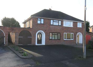 Thumbnail 3 bed semi-detached house for sale in Stourbridge, Norton, Poplar Crescent