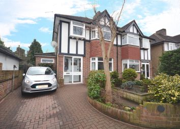 Thumbnail 3 bed semi-detached house for sale in Whitton Manor Road, Isleworth