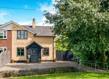 Thumbnail 2 bed semi-detached house for sale in The Green, Hessett, Bury St. Edmunds