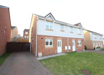 Thumbnail 3 bed semi-detached house for sale in Balmore Crescent, Stepps, Glasgow, North Lanarkshire