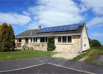 Thumbnail 4 bed detached bungalow for sale in Knightcott Park, Banwell