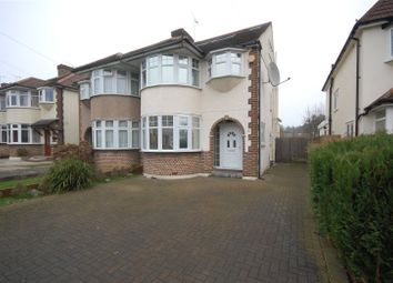 Thumbnail 4 bed semi-detached house for sale in Redden Court Road, Harold Wood, Essex