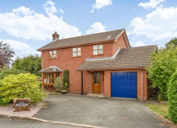 Thumbnail 3 bed detached house for sale in Greenway Close, Crossgates, Llandrindod Wells