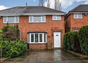 Thumbnail 3 bed semi-detached house for sale in Scott Grove, Solihull