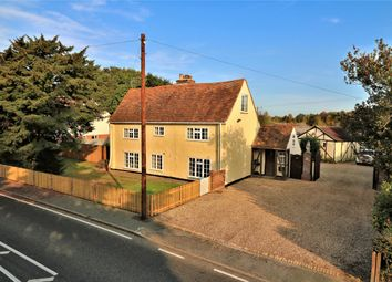 Thumbnail 4 bed detached house for sale in Harwich Road, Great Bromley, Colchester, Essex