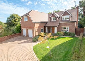 Thumbnail 5 bed detached house for sale in Grove Road, Camberley