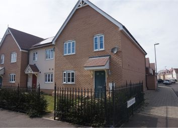 Thumbnail 4 bedroom end terrace house to rent in Hooper Avenue, Colchester