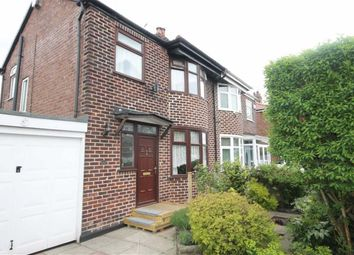 Thumbnail 3 bed semi-detached house for sale in Gatling Avenue, Longsight, Manchester