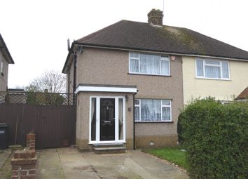 Thumbnail 3 bed semi-detached house for sale in Montacute Road, New Addington, Croydon
