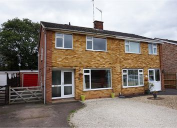 Thumbnail 3 bed semi-detached house for sale in Box Close, Leamington Spa