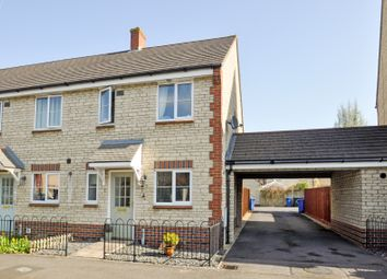 Thumbnail 3 bed semi-detached house for sale in Nuthatch Way, Bicester