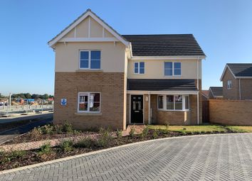 Thumbnail 4 bed detached house for sale in Claydon Park, Off Beccles Road, Gorleston