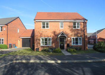 Thumbnail 4 bed detached house for sale in Lightning Grove, Hucknall, Nottingham
