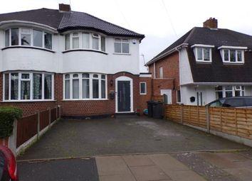 3 bed semi-detached house for sale in Hollydale Road, Erdington, Birmingham, West Midlands B24
