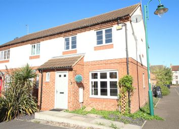 Thumbnail 3 bed end terrace house to rent in Sharnbrook Avenue, Hampton Vale, Peterborough