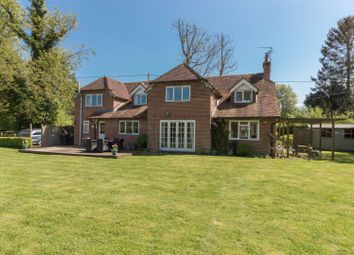 Thumbnail 4 bed detached house for sale in Church Lane Goodworth Clatford, Andover