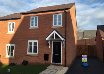 Thumbnail 3 bedroom semi-detached house to rent in Thistly Leasow, Woodside, Telford