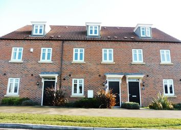 Thumbnail 3 bed town house to rent in Severus Crescent, North Hykeham, Lincoln