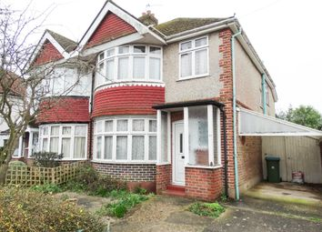 Thumbnail 3 bedroom semi-detached house for sale in Greencourt Drive, Bognor Regis
