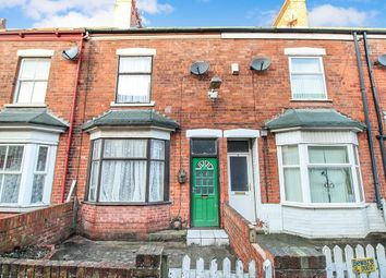 Thumbnail 2 bedroom terraced house for sale in Myrtle Avenue, Williamson Street, Hull