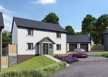 Thumbnail 4 bed detached house for sale in Hoggan Park, Brecon