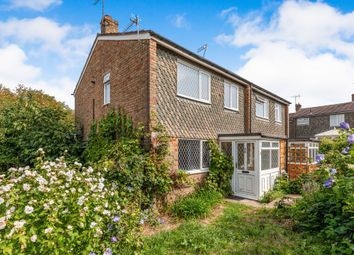 Thumbnail 4 bed semi-detached house for sale in Paul Close, Hailsham