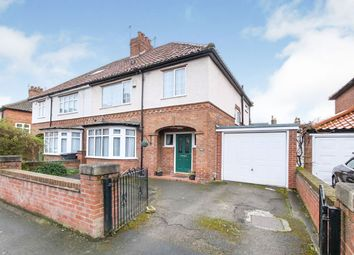 Thumbnail 3 bed semi-detached house for sale in Bootham Crescent, York, North Yorkshire
