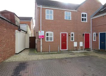 Thumbnail 2 bed end terrace house to rent in St. Johns Mews, Holbeach, Spalding