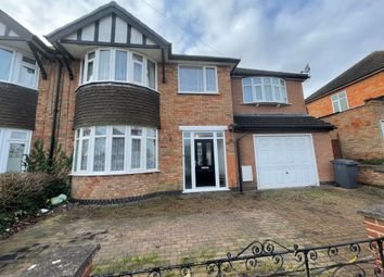 Thumbnail Semi-detached house for sale in Summerlea Road, Leicester