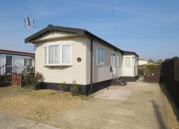 Thumbnail 1 bed mobile/park home for sale in Pioneer Caravan Site, Eye, Peterborough