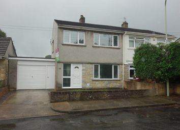 Thumbnail 3 bed semi-detached house to rent in Rhyd-Y-Nant, Pontyclun