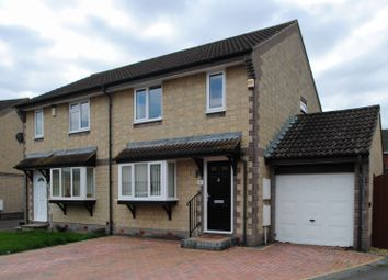 Thumbnail 3 bed semi-detached house for sale in Hazelwood Drive, Bower Manor, Bridgwater