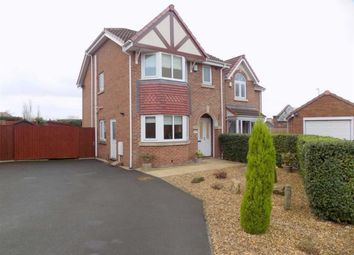 Thumbnail 3 bed semi-detached house to rent in Lyndale Close, Leek, Staffordshire