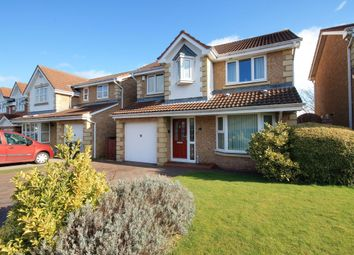 Thumbnail 4 bed detached house for sale in Lesbury Close, Chester Le Street