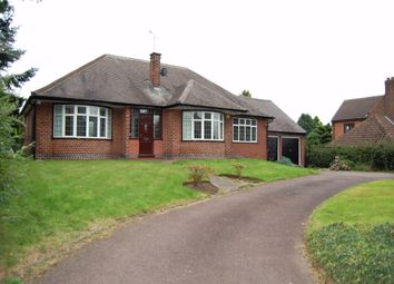 Thumbnail 2 bed detached bungalow to rent in Cossall Road, Trowell, Nottingham