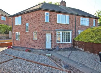 Thumbnail 4 bed semi-detached house for sale in Valley Road, Carlton, Nottingham