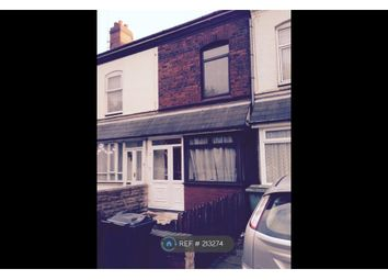 Thumbnail 3 bedroom terraced house to rent in Darlaston Road, Walsall