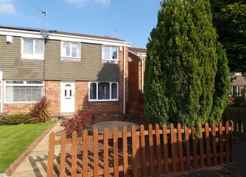 Thumbnail 3 bed end terrace house for sale in Orpington Road, Cramlington
