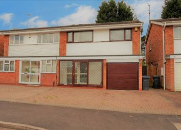 Thumbnail 3 bed semi-detached house for sale in Woodend, Handsworth Wood, Birmingham