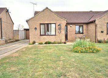 Thumbnail 2 bedroom semi-detached bungalow for sale in Margarets Close, Hunstanton