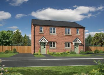 Thumbnail 3 bed semi-detached house for sale in Plot 2, Henry Robertson Place, Gobowen, Oswestry
