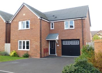 Thumbnail 4 bed detached house for sale in Snaffle Way, Evesham