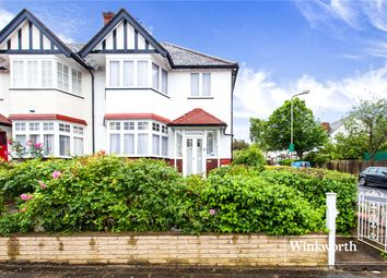 Thumbnail 4 bed end terrace house for sale in Brent Way, West Finchley, London