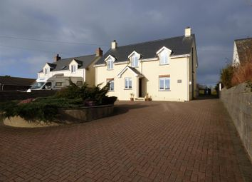Thumbnail 4 bed detached house for sale in Abercastle Road, Trefin, Haverfordwest
