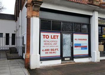 Thumbnail Retail premises to let in Hagley Road, Edgbaston