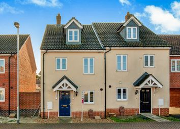 Thumbnail 3 bedroom semi-detached house for sale in Washington Drive, Watton, Thetford