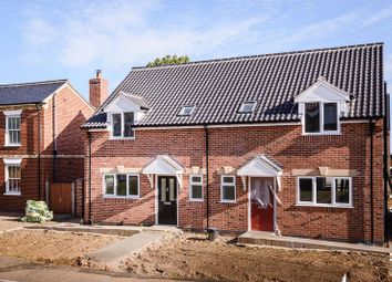 Thumbnail 3 bed semi-detached house for sale in Main Road, Filby, Great Yarmouth