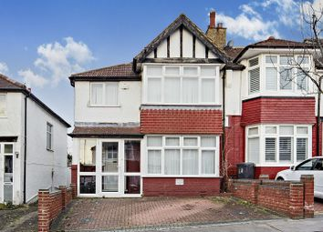 Thumbnail 3 bed semi-detached house for sale in Elgar Avenue, London, Greater London