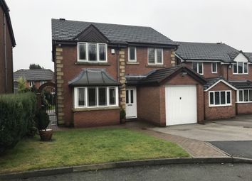 Thumbnail 4 bed detached house to rent in Lower Fields Rise, Shaw, Greater Manchester