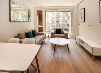 Thumbnail 1 bed flat to rent in Lockside House, Chelsea Creek, Fulham